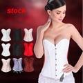 NEW flower lace floral Sexy Waist Workout Cincher underbust Body Shaper Shapewear Corset S-XXL 0810 for Women girl