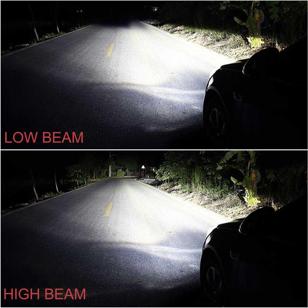 BraveWay H4 LED H7 H11 HB3 HB4 9005 9006 Auto Led Light Car Headlight Bulb for Cars CSP Chip H7 LED Lamp for Car Bulb H4 16000LM