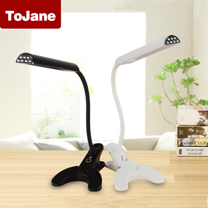 LED Desk Lamp Table Lamp Dimmer Touch Switch 8 Watt with 5 Level Brightness Control TG902 Clip Eye-care Flexible Arm led desk lamp touch sensitive control eye protection table lamp with 7 level dimmer 5 level color for reading working studying