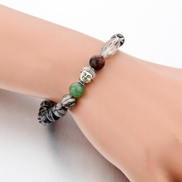 Фото женские и мужские буддийские браслеты chicvie из натурального цена
