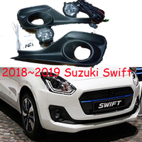 2018~2019 Swift fog light,car accessories,Bumper Fog Lamp with Switch Harness Cover Fog Lamp Kit swift headlight,car styling