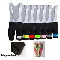 SGCIKER high quality cycling bib shorts classic black race bicycle Ropa Ciclismo bike pants 5D gel pad Italy grippers