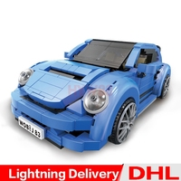 Xingbao 03015 Genuine Creative MOC Car Set Children Educational Building Blocks Bricks lepinings Toys Clone LP