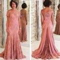 Mãe dos Vestidos de Noiva Calça Terno Sereia Fora Do Ombro Laço Nupcial Vestido Mãe Mãe Das Noivas Vestidos para Casamentos