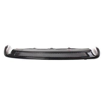 Fit For Audi A6 A6L C7 2012-2016 Rear Bumper Diffuser Bumpers Lip Protector Guard carbon fiber