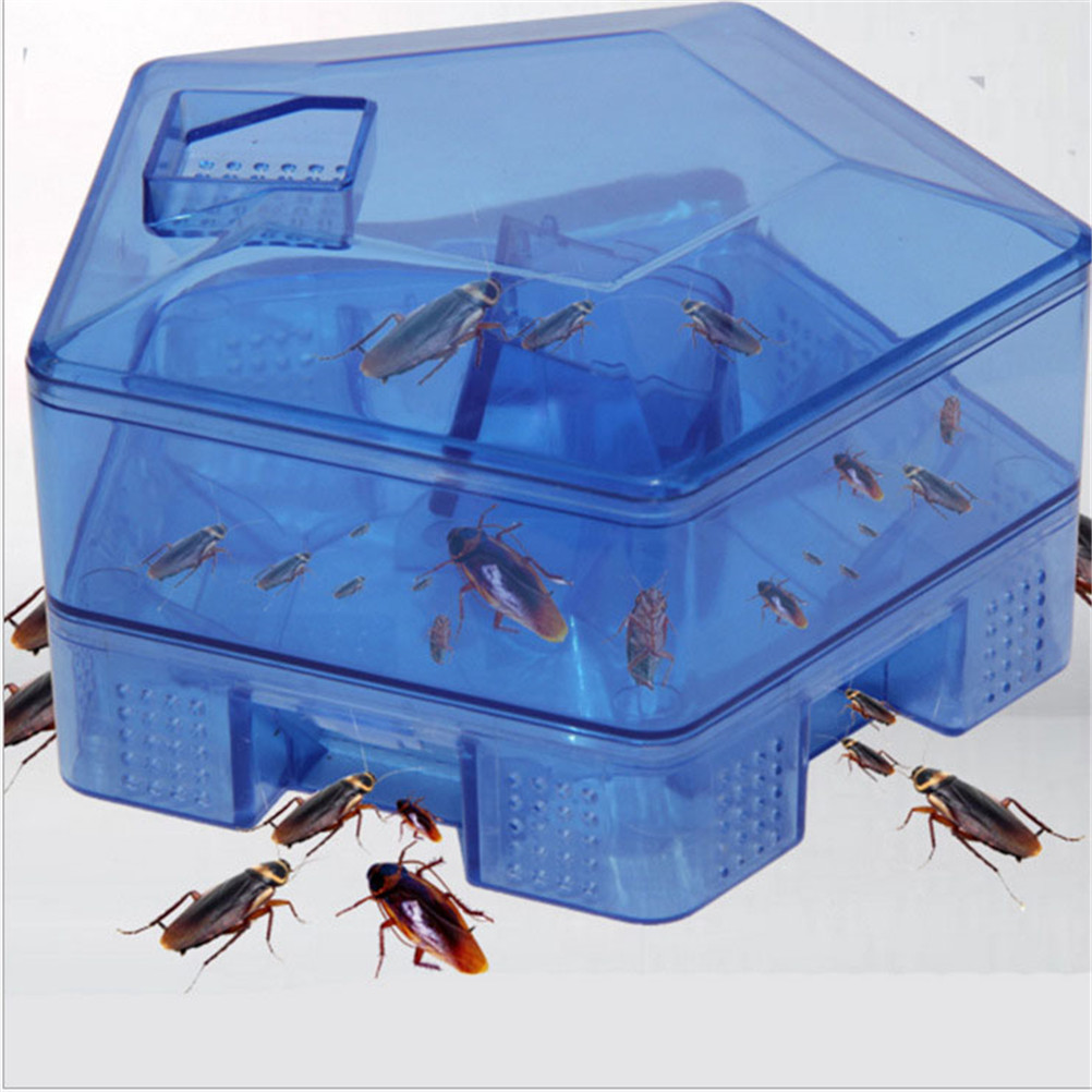 Killer Box House Bait Insect Bug Traps Catcher Cockroach