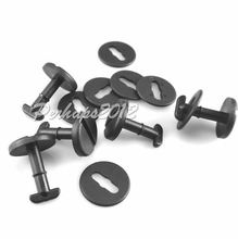 100x OEM Floor Carpet Mat Clips For E36 E46 E38 E39 Series Twist Lock with Washers for BMW 3 Series