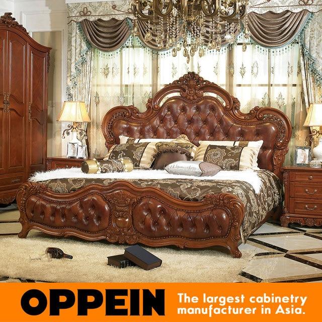 Fantástico Muebles De Cama Tradicional Ornamento - Muebles Para ...