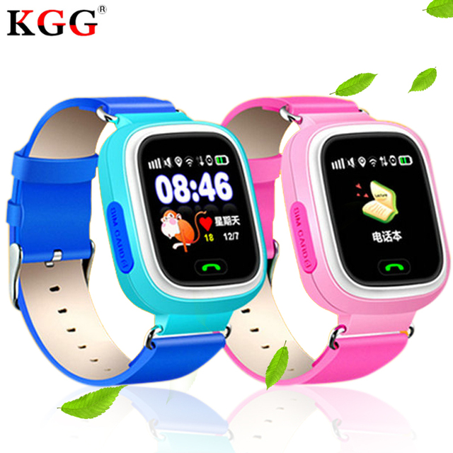 Q90 GPS Kid Smart Watch Baby Anti-lost Watch with Wifi Touch Screen SOS Call Location Device Tracker for Children Safe Monitor