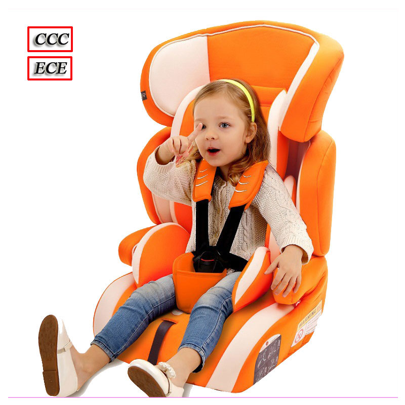 Multifunctional Baby Child Car Safety Seat Kids Adjustable Removable Five Point Harness Chair Car Seat Booster Cushion 9 M~12 Y factory direct sales multifunctional baby child car safety seat kids adjustable removable five point harness chair seat 9 m 12 y