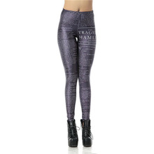 2016 new Sexy Leggins Hamlet Articles Digital Legins Printed Women Leggings KDK1182