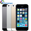 Original Unlocked Apple iphone 5s 16GB / 32GB ROM IOS phone White Black Gold GPS GPRS A7 IPS LTE Bluetooth Cell phone