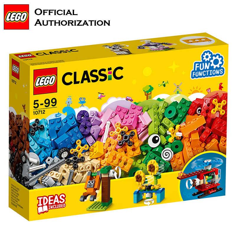 2018 Newest LEGO Blocks Building Children Toy Funny lego Model Building  Baby Starting Toys Colorful Blocos De Construcao 10712