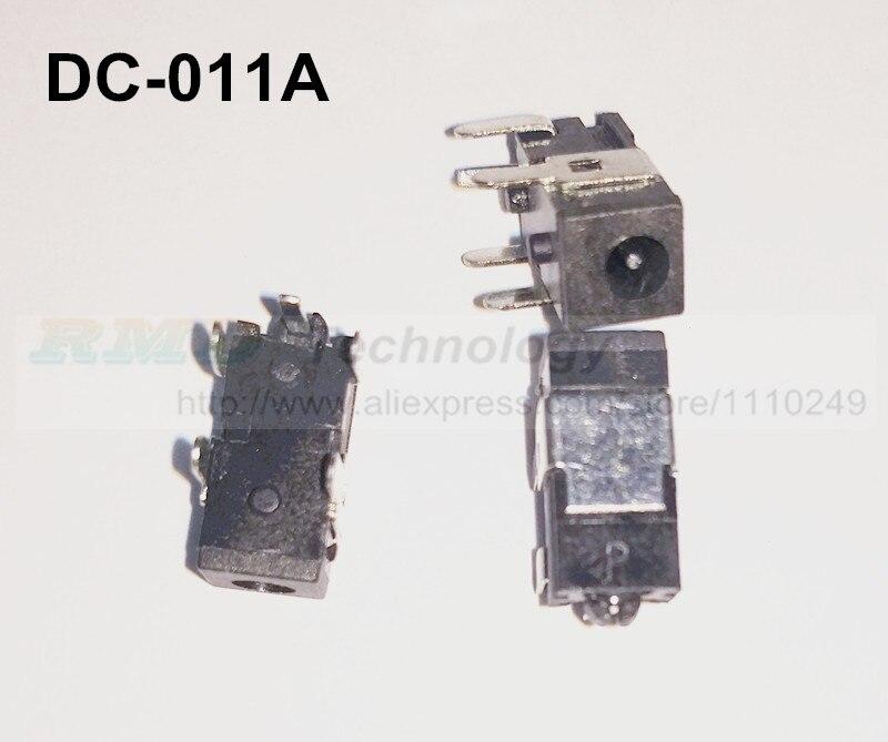 10pcs lot DC Power adapter 2 5 0 7mm DC jack connector DC 011A 2 5