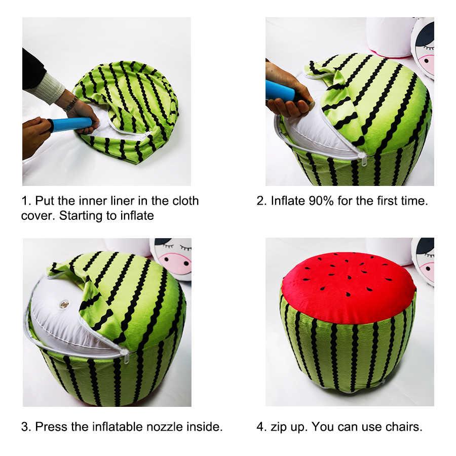 Inflável Espreguiçadeira Sofá e Cadeira de Acampamento Portátil Rede de Ar Cadeira Sofá Inflável blow up assento Ideal para Piqueniques & Festas