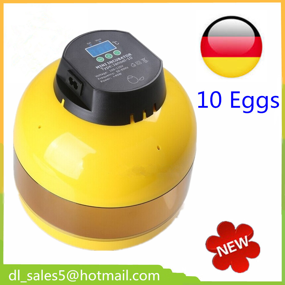 China Fully automatic  Machine hatching eggs Mini  10Chicken Automatic Egg Incubators Sale  Turn for Duck Pigeon Quail Parrot can be customized 1000ps h automatic roast duck bread making machine for sale