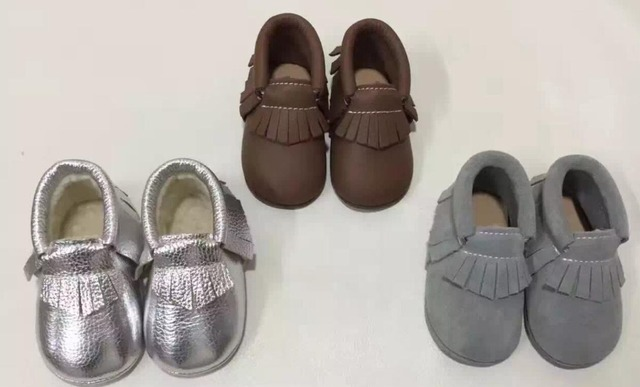 New arrival Genuine Leather high quality Baby Moccasins Shoes Baby Shoes Newborn first walker Infant Shoes wholesale