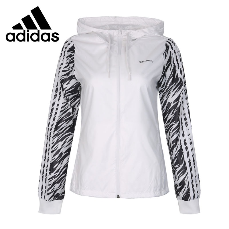 Original New Arrival 2018 Adidas NEO Label WB ANML Women's jacket Hooded Sportswear стоимость