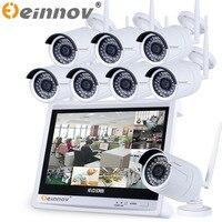 8CH CCTV System Wireless 960P 12 Inch NVR 8PCS 1 3MP IR Outdoor P2P Wifi IP