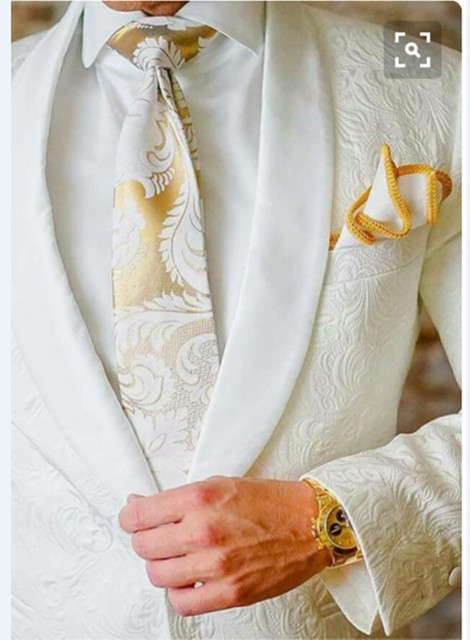 008dc20d233 New Design Embossed Fabric Mens Suits Groom Tuxedos Groomsmen Wedding Party  Dinner Blazer (Jacket+Pants) K:1570