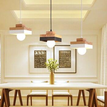 Đèn phòng ăn droplight led droplight phòng ăn ánh sáng Single-end bất hình gỗ bàn đèn ngủ và đèn đèn lồng