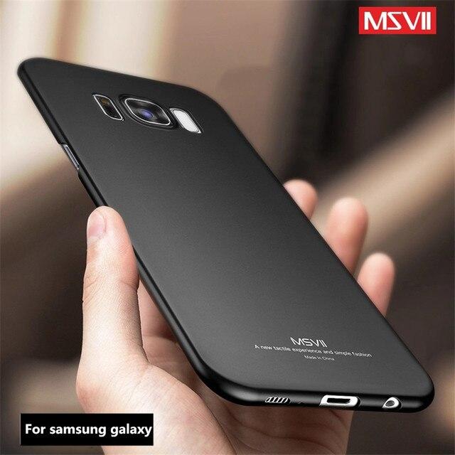 on sale a1a1b 88c34 US $3.83 23% OFF MSVII case For Samsung Galaxy S9 S8 plus S7 S6 edge case  S10 S10E E case silicone cover Coque for samsung S 9 8 plus note 9 8 5-in  ...