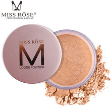 MISS ROSE 12G Makeup Matte Finish Transparent Setting Powder Face Loose Finishing Powder Translucent Smooth Setting Foundation(China)