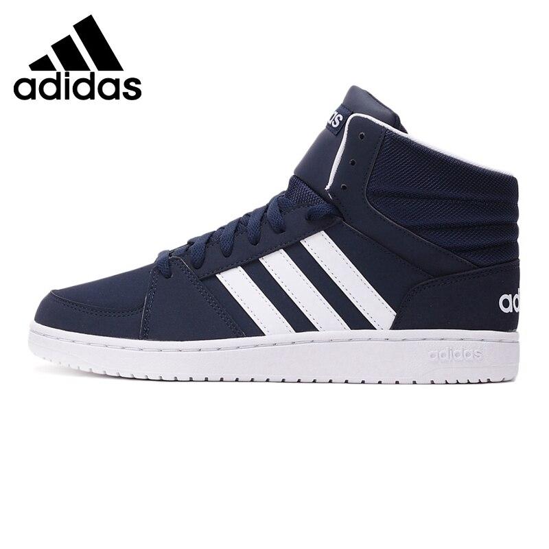 Prix pour Original Nouvelle Arrivée 2017 Adidas NEO Étiquette VS CERCEAUX MI Hommes de Planche À Roulettes Chaussures Sneakers