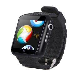 Трекер часы 3g Wifi Водонепроницаемый Спорт Фитнес для мужчин повседневная камера Facebook Whatsapp посетить веб-сайт монитор Часы V7W