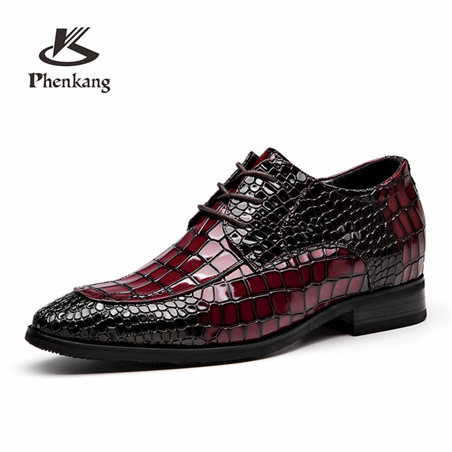 red Hommes Mariage Mens black With Fur En Red Buckle Noir Fur Lace Rouge black Véritable 6cm Lacets Pour Mocassins Derbies Oxford Chaussures red Cuir 2019 6cm black Habillées Buckle De Printemps black black 6cm red Buckle qBrxqw07
