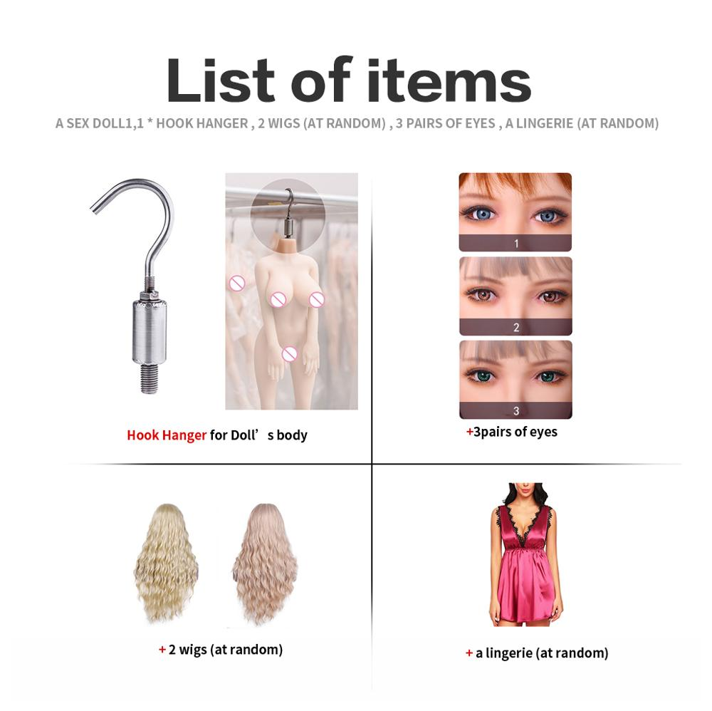 168cm Sex Dolls for Adult Men Sexy ForToys Realistic Japanese Anime Silicone Oral Love Doll Small Breast Mini Vagina Pussy-in Sex Dolls from Beauty & Health    2