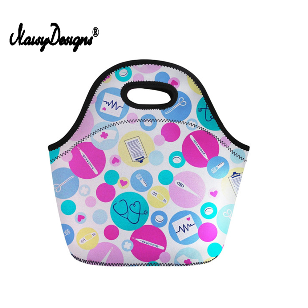 Lunch Bag For Women Handle Tote