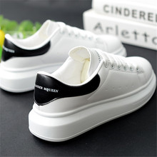 High Quality Brand Mcqueens Sneakers Women Platform White shoes woman Running