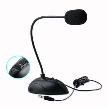 YCDC NEW Professional Condenser Sound Podcast Studio Microphone For PC Laptop Skype MSN Microphone Portable MINI