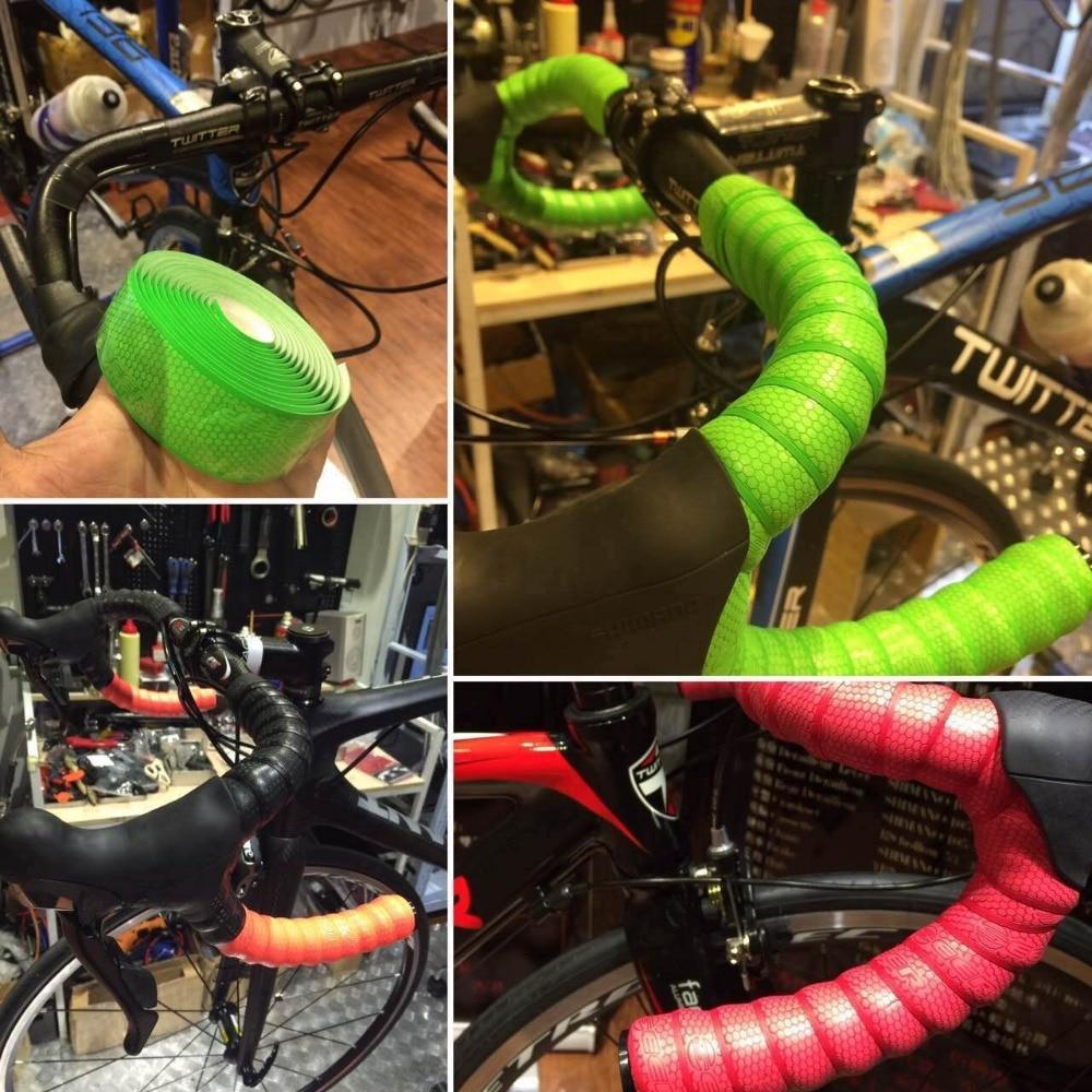 Tangerine Orange Road bike Cycling Lizard Skins DSP 2.5mm Bar Tape