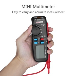 Image 2 - BSIDE ADM92 Handheld True RMS Digital Multimeter Auto Range 6000 Counts TRMS Tester with Live Wire Check Temp NCV Hz ohm Diode