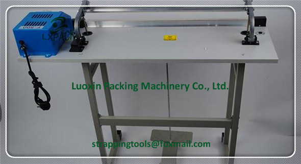 LX-PACK Pedal impulse electrical heating bag sealer packaging sealing machine aluminum frame tray packaging equipment pfs 200 impulse quick rapid plastic pvc bag sealing machine sealer for food medical packaging packing manufacturing industry