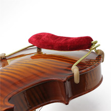 1pcs Professional Soft Violin Shoulder Rest Pad for 3/4 & 4/4 Size Violin Spring Shoulder Musical Violin Instrument Tool Hot цена и фото
