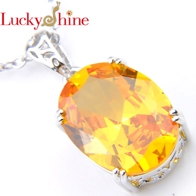 Luckyshine New Valentine Gift Silver Plated Jewelry Classic Fire