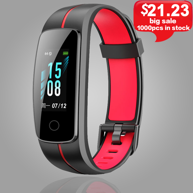 ID107 Plus HR Smart Band Waterproof Smart Bracelet Heart Rate Monitor Activity Sleep Fitness Tracker Wristband Men Smartwatch.
