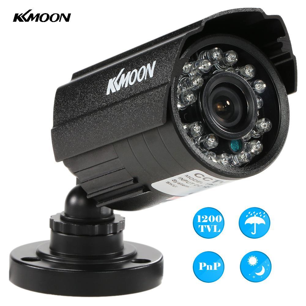 bilder für KKmoon 1200TVL Überwachung Cctv-kamera Sicherheit Kamera Wasserdicht 24 IR Lampen Ir-sperrfilter Tag/Nachtsicht CCTV Stiftkamera