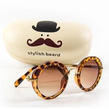 Vintage Round Sun Glasses UV 400 Children Sunglass Oculos De Sol lunette de sole