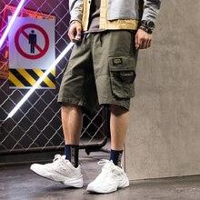 men shorts sweat hip hop streetwear summer military cotton mens bermuda M-XXXL 2019 casual sexy