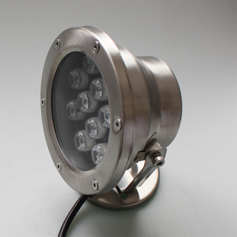 Free Shipping 2 pcs per lot 12w RGB LED underwater light lamp fountain lamp led swimming pool light delivered by dhl bruno rossi ml265p cuoio