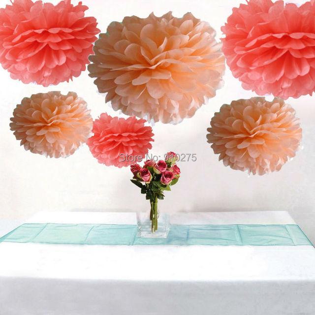 packung 12 gemischte korallen pfirsich. Black Bedroom Furniture Sets. Home Design Ideas