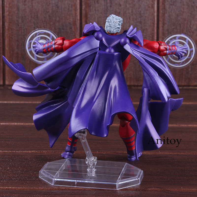 Image 4 - Marvel Comics X Men Avengers Magneto Figma Series NO.006 PVC XMen  Amazing Yamaguchi Figure Collectible Model ToyAction & Toy Figures   -