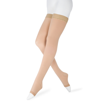 20-30 mmHg Medical Therapy Compression Stockings for Women's Men's Nurses Graduated Support Varicose Veins Pregnancy Open-toe