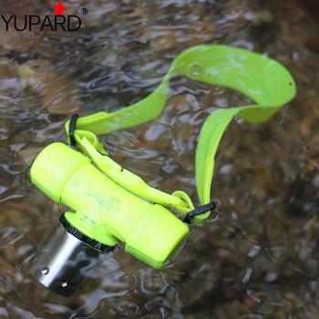 YUPARD Diving  30m  XM-L2 XM-L T6 LED headlamp Flashlight Waterproof underwear Light Lamp+2*18650 2200mAh Battery+Charger singfire sf 605 2400lm 5 mode diving flashlight w cree xm l t6 battery charger 2 x 26650