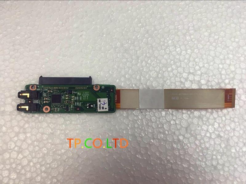 Original For Dell Vostro 13 V13 V13TL 6050A2301601 HDD Audio Board Cable DDWP3 6035B0061001 dell vostro 3500 brass