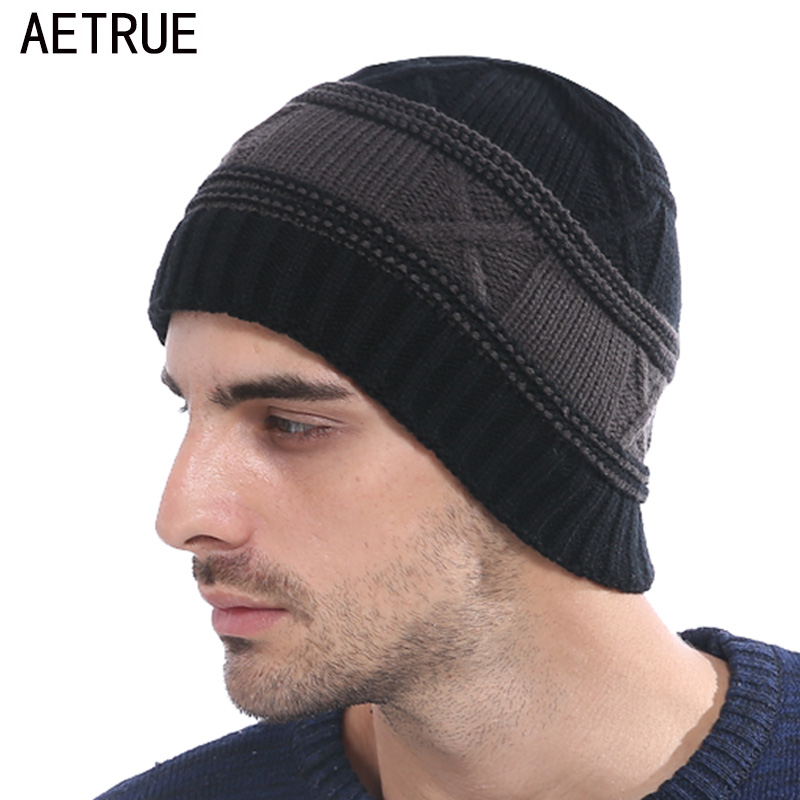 Winter Beanies Men Knitted Hat Winter Hats For Men Women Fashion Caps Skullies Beaine Bonnet Brand Mask Casual Cap Warm Hat 2017 brand winter beanies men knitted hat winter hats for men warm bonnet skullies caps skull mask wool gorros beanie 2017